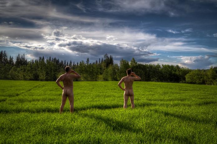Finnen und ihre Sauna