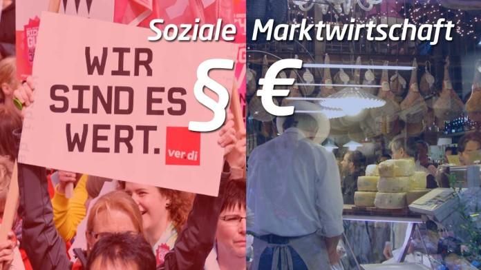 Soziale Marktwirtschaft - Paragraphen gegen Euro