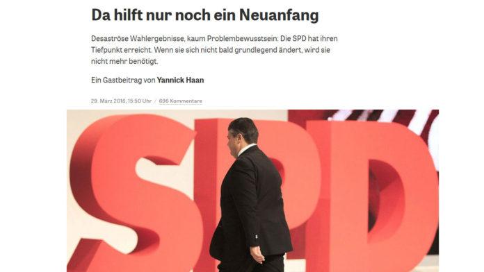 SPD Neuanfang