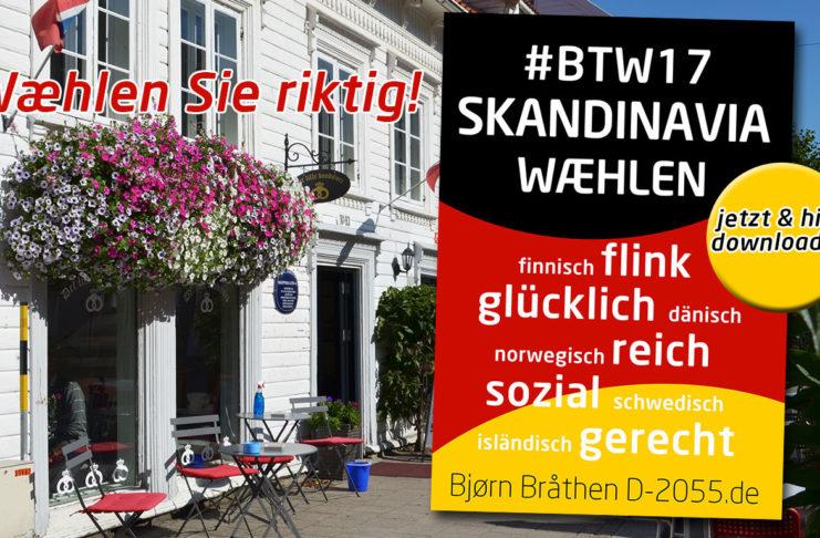 Skandinavien versus Deutschland - sozial und wirtschaftlich
