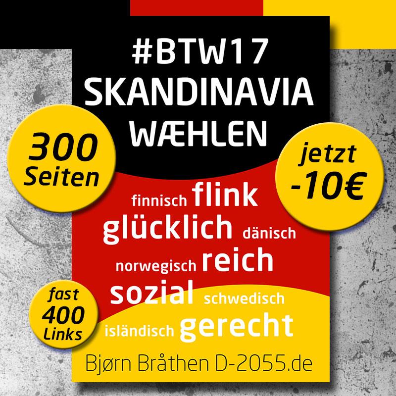Bundestagswahl 2017: Skandinavia wæhlen